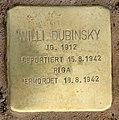 Stolperstein Schönwalder Str 64 (Spand) Willi Dubinsky.jpg