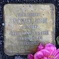 Stolperstein Uhlandstr 151 (Wilmd) Michael Adam.jpg
