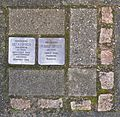 Stolpersteine Krefeld, Verlegestelle Wilhelmshofallee 74.jpg