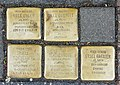 Stolpersteine für Unger, Gumpert, Schönenberg, Hanauer, Venloer Straße 23, Köln-5218.jpg