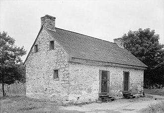 Berry Hill Plantation - Stone slave quarters, Berry Hill