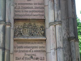 West Bergholt - Stratford Martyrs Memorial, London