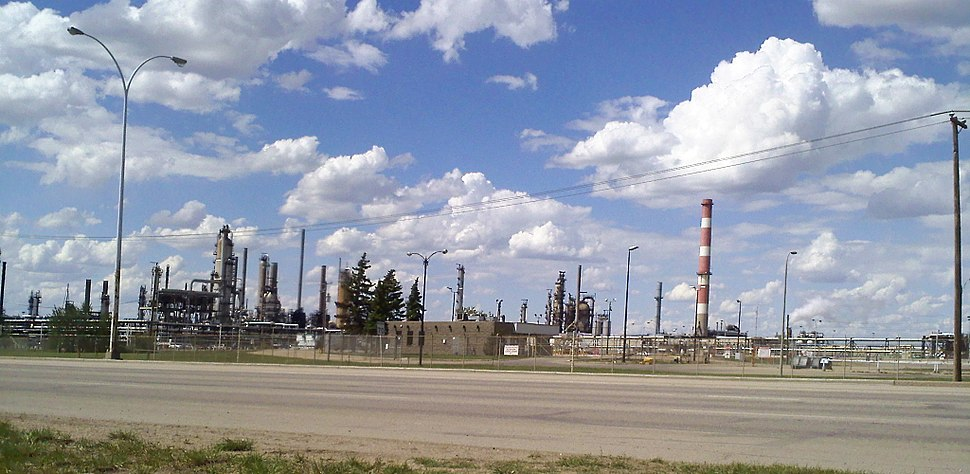 Strathcona Refinery NW Baseline Road 10