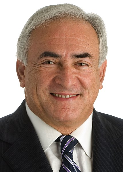 Dominique Strauss-Kahn, internationally known financial guru