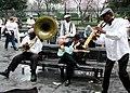 Street Band Jackson Square New Orleans 2001.jpg