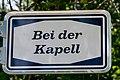 Stroosseschëld «Bei der Kapell», Useldeng.jpg