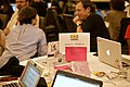 Structured data table at the Wikimania Hackathon 2017.jpg