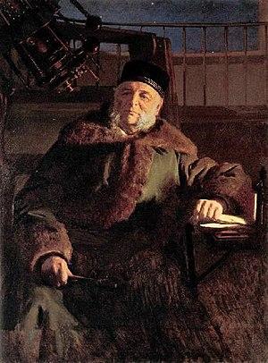 Otto Wilhelm von Struve - 1886 portrait of Struve by Ivan Kramskoi.