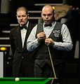 Stuart Bingham and Jan Scheers at Snooker German Masters (DerHexer) 2015-02-05 03.jpg