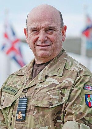 Stuart Peach - Stuart Peach in MTP Uniform.