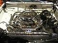 Studebaker National Museum May 2014 048 (1964 Studebaker Pursuit Marshal engine).jpg