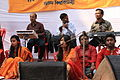 Student perform on Pohela Falgun celebration at Muktamancha in University of Chittagong (07).jpg