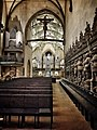 Stuttgart Stiftskirche - View from Chancel towards Nave. .jpg