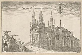 History of Uppsala - Uppsala in Suecia antiqua et hodierna