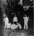 Sun Yat Sen together with the participants in the Huanggang Uprising in Wanqing Yuan Singapore March 1907.png