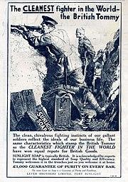 Sunlight Soap WW 1 Ad