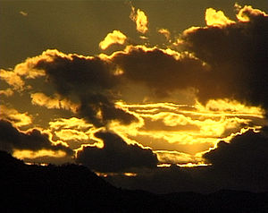 Khakassia - Image: Sunset in Khakassia