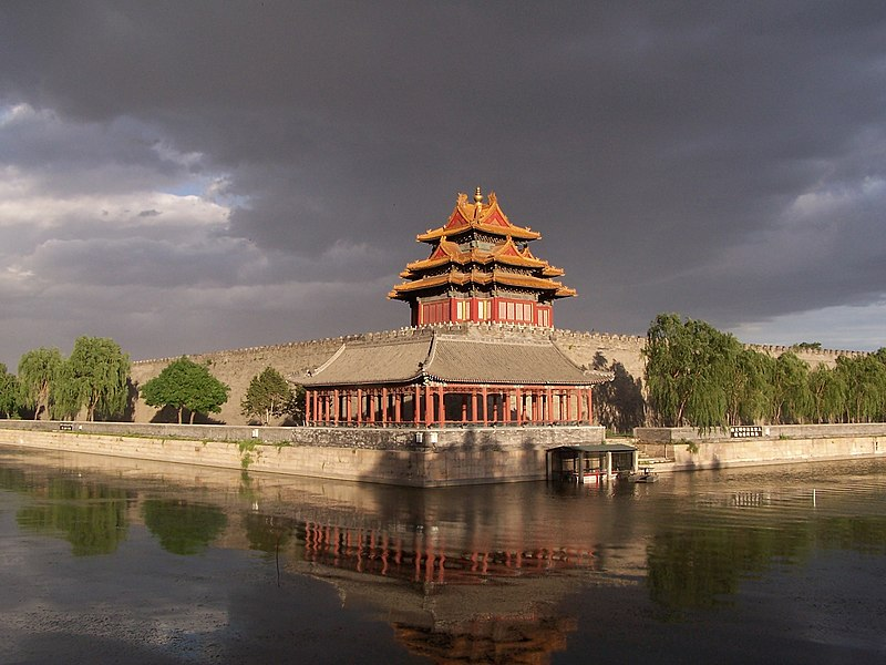 Sunset of the Forbidden City