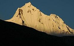 Zachód słońca w Kangchengyao w północnym Sikkim.jpg