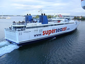 HSC Speedrunner III - Image: Super Sea Cat Three Helsinki 2006