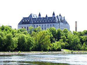 Supreme Court of Canada from Ottawa River.jpg