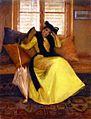 Susan Watkins (1875-1913), Lady in Yellow (1902).jpg