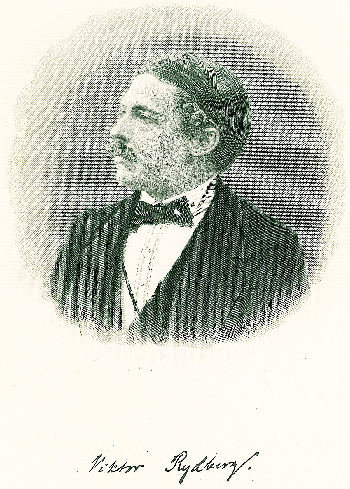 Swedish author Viktor rydberg with signature.jpg