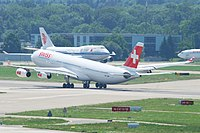 HB-JME - A343 - American Falcon