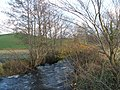 Swollen beck and flooded fields near Old Hutton - geograph.org.uk - 1589204.jpg