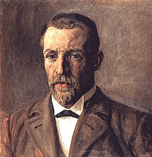 Fritz Syberg - Fritz Syberg: Self-portrait (1910)