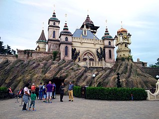 Symbolica darkride in the Efteling
