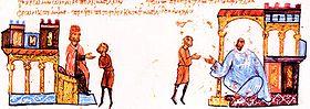 Преговори между Симеон и египетския емир Фадлун