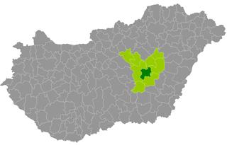 Törökszentmiklós District Districts of Hungary in Jász-Nagykun-Szolnok
