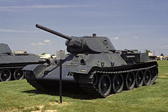 T-34 w United States Army Ordnance Museum