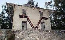 La casa di Hector Patureau sull'isola Juan de Nova.