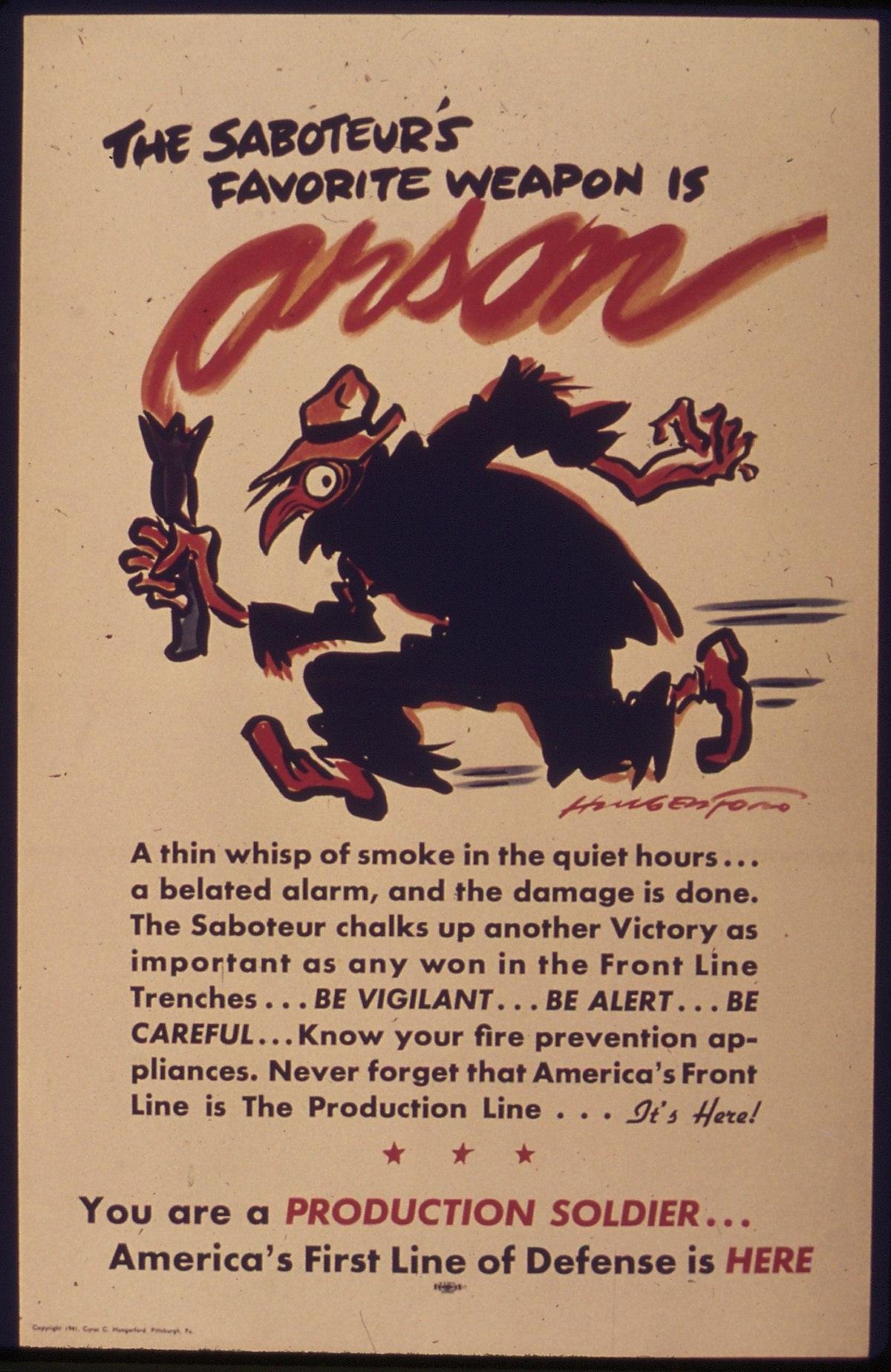 arson wikipedia