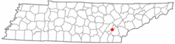 Location of Decatur, Tennessee
