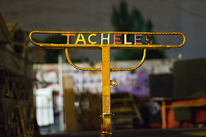 Kunsthaus Tacheles - A sign for Tacheles at the entrance
