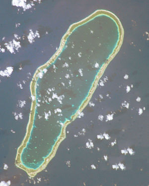 Takapoto - NASA picture of Takapoto Atoll