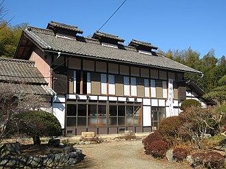 The Tomioka Silk Mill and Related Industrial Heritage - Image: Takayama sha Sericulture School 4