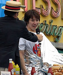 Takeru KOBAYASHI - Wikipedia, the free encyclopedia