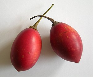 Tamarillo - Ripe fruits