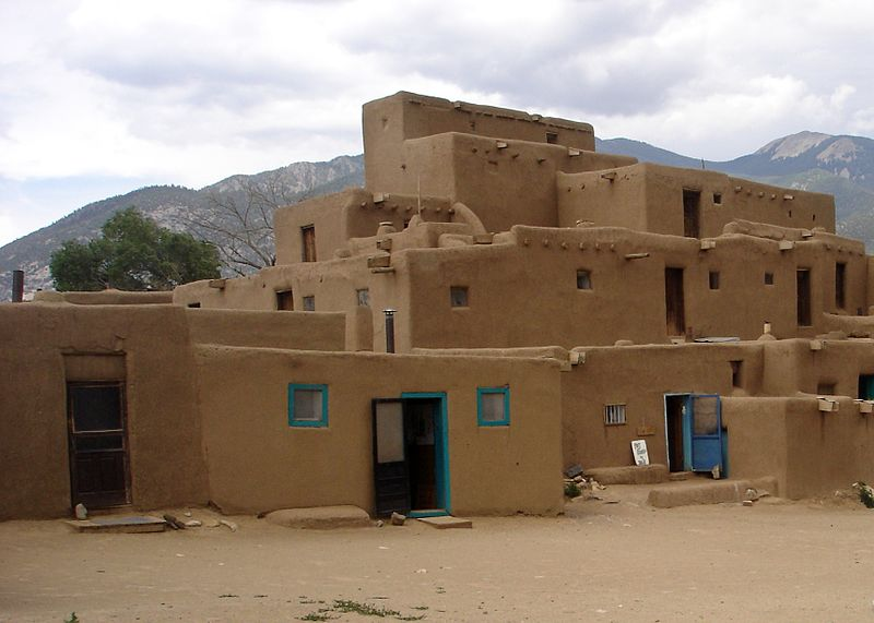 File:Taos Pueblo, New Mexico, USA - panoramio.jpg