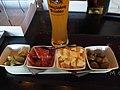 Tapas and beer at restaurant Solmu.jpg