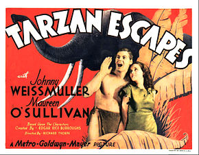 Description de l'image Tarzan Escapes lobby card.jpg.