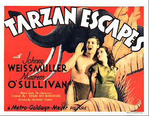 Tarzan Escapes - Lobby card