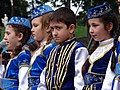 Tatar Kids on Podium at May 18 Commemoration of Crimean Tatar Deportations-Genocide - Maidan Square - Kiev - Ukraine (27032221751).jpg