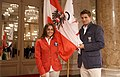 Team Austria - Olympic Games 2012 - reception at Hofburg c29 Tamira Paszek, Clemens Trimmel.jpg