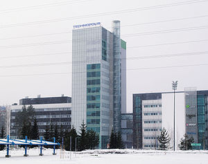 Technology Centre Teknia (Kuopio Science Park) - Image: Technopolis in Savilahti Kuopio 2008