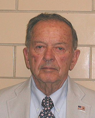 Ted Stevens - Mug shot of Stevens taken in July 2008